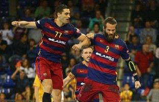 Barcelona move into quarters and Vardar secure third